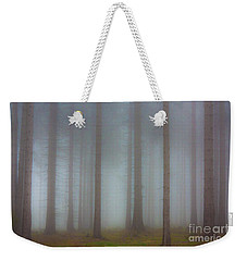 Forest In The Fog Weekender Tote Bag by Michal Boubin