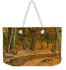 Forest Life Weekender Tote Bag by Roena King
