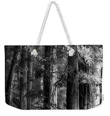 Forest Monochrome Weekender Tote Bag