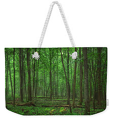 Forest Of Green Weekender Tote Bag