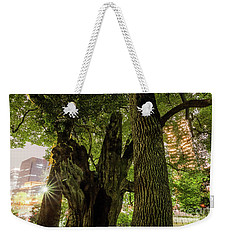 Weekender Tote Bag featuring the photograph Forest Of Tokyo by Tatsuya Atarashi