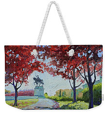 Forest Park Autumn Colors Weekender Tote Bag