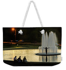 Forest Park Fountain Weekender Tote Bag
