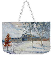 Forest Park Winter Weekender Tote Bag by Irek Szelag
