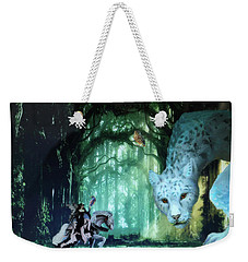 Forest Queen And Fearsome One Weekender Tote Bag