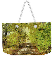 Forest Road Weekender Tote Bag by Dragica Micki Fortuna