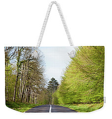Forest Road Weekender Tote Bag by Yoel Koskas