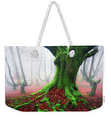Forest Speeches Weekender Tote Bag