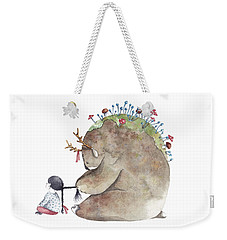 Forest Spirit Weekender Tote Bag by Soosh