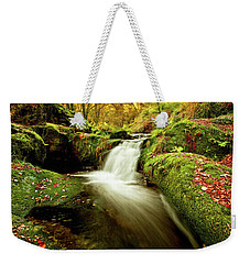 Forest Stream Weekender Tote Bag by Jorge Maia
