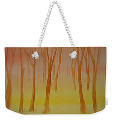 Forest Study Weekender Tote Bag