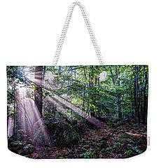 Forest Sunbeams Weekender Tote Bag