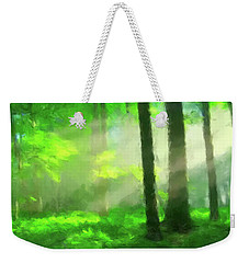 Forest Sunlight Weekender Tote Bag