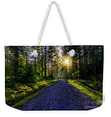 Forest Sunlight Weekender Tote Bag by Ian Mitchell