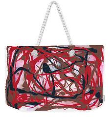 Forest Sunset Weekender Tote Bag