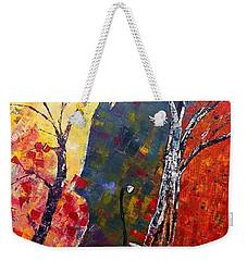 Forest Symphony Weekender Tote Bag