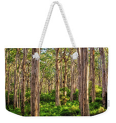 Weekender Tote Bag featuring the photograph Forest Twilight, Boranup Forest by Dave Catley