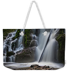 Forest Waterfall Weekender Tote Bag by Chris McKenna