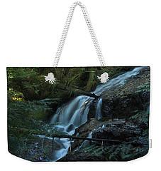 Forest Waterfall. Weekender Tote Bag