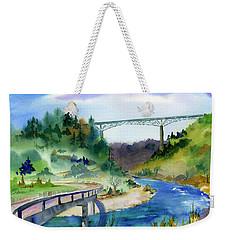 Foresthill Bridge #2 Weekender Tote Bag