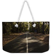 Weekender Tote Bag featuring the photograph Forestry Road Landscape by Jorgo Photography - Wall Art Gallery