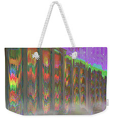 Weekender Tote Bag featuring the digital art Forests Of The Night by Wendy J St Christopher
