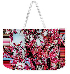 Weekender Tote Bag featuring the photograph Forever Buds by Nancy Marie Ricketts