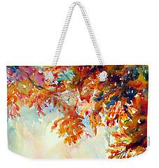 Forever Fall Weekender Tote Bag