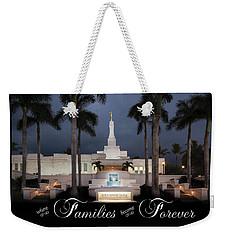Forever Families Weekender Tote Bag