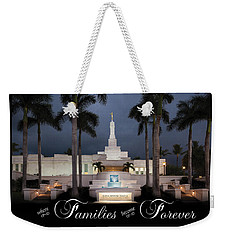 Forever Families Weekender Tote Bag by Denise Bird