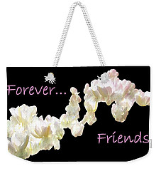 Forever Friends Weekender Tote Bag by David and Lynn Keller