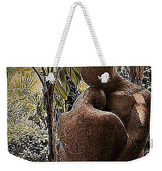 Weekender Tote Bag featuring the photograph Forever by John Glass