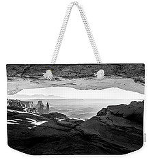 Weekender Tote Bag featuring the photograph Forever View by Kristal Kraft