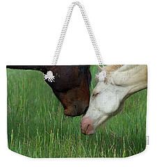 Weekender Tote Bag featuring the photograph Forever Wild by Mary Hone