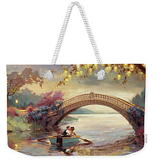 Weekender Tote Bag featuring the painting Forever Yours by Steve Henderson