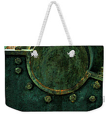 Forged In Green Weekender Tote Bag