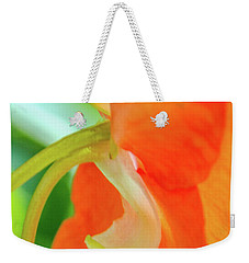 Weekender Tote Bag featuring the photograph Forget Me Not by Bill Gallagher