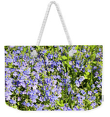 Forget-me-not - Myosotis Weekender Tote Bag