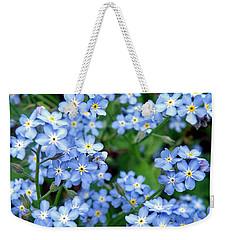 Forget-me-nots Weekender Tote Bag