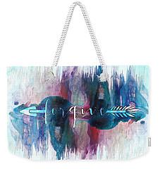 Forgive Arrow Weekender Tote Bag