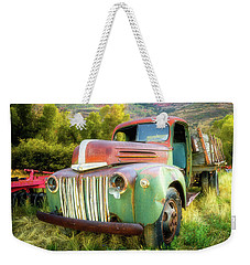 Forgotten - 1945 Ford Farm Truck Weekender Tote Bag