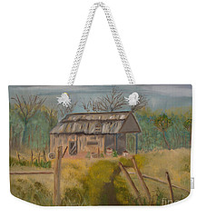 Forgotten And Misty Country Shed Weekender Tote Bag