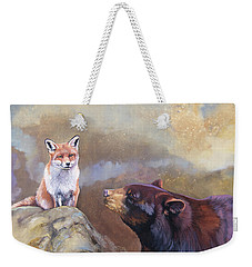 Forgotten Bear Tales Weekender Tote Bag