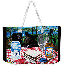 Forgotten Fluffernutter Weekender Tote Bag