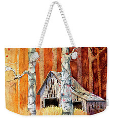 Forgotten In The Aspens Weekender Tote Bag