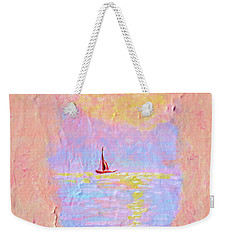 Forgotten Joy Weekender Tote Bag by Donna Blackhall