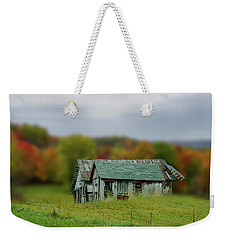 Weekender Tote Bag featuring the photograph Forgotten by Mary Timman