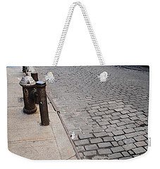 Weekender Tote Bag featuring the photograph Forgotten N Y by Rob Hans