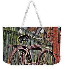 Weekender Tote Bag featuring the photograph Forgotten Ride 2 by Jim and Emily Bush