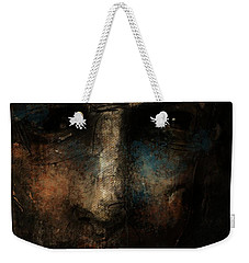 Weekender Tote Bag featuring the digital art Forgotten Soul by Jim Vance